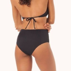 Lively Swim - Lively The High Waist Swim Bottoms - Jet Black